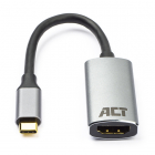 ACT USB C naar HDMI adapterkabel - ACT - 0.15 meter (4K@60Hz) AC7010 K070501147