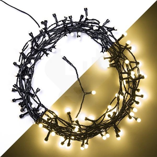 action led kerstverlichting 12 meter 120 leds bolvormige lampjes binnenbuiten