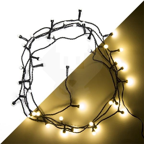 action led kerstverlichting 6 meter 40 leds bolvormige lampjes binnenbuiten