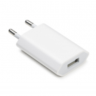 USB oplader - Apple - 1 poort (1A, USB A, Wit)