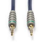 Bandridge 3.5 mm jack kabel - Bandridge - 0.5 meter (Stereo, Verguld, 100% koper) BAL3300 K010301123