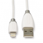 Bandridge Apple lightning oplaadkabel - Bandridge (0.1 meter, Wit) BBM39300W01 K051002009