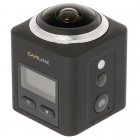 CAMLINK Action camera Full HD (360° panoramisch, Wi-Fi , Waterdicht) CL-AC360 K170406100