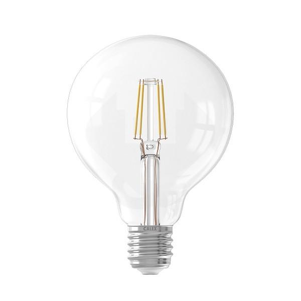 Led Lamp E27 Globe Calex 6w 600lm 2700k Calex Kabelshop Nl