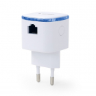 Gembird Wifi repeater - Gembird (300 Mbps, Access point, 2.4 GHz, Wit) WNP-RP300-02 K060302270