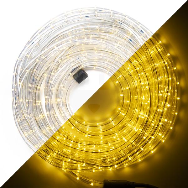 Led Lichtslang 9 Meter 270 Leds Warm Wit Hq Power Kabelshop Nl