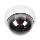 Dummy camera dome (IP44, Buiten, Wit)