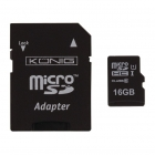 König Micro SDHC geheugenkaart met adapter (Class 10 UHS-I, 16 GB) CSMSDHC16GB K170301106