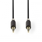 Nedis 3.5 mm jack kabel - Nedis - 0.5 meter (Stereo, Verguld) CABW22000AT05 N010301127