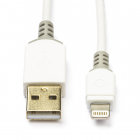 Nedis Apple Lightning kabel | 1 meter (Wit) CCBP39300WT10 K010901132