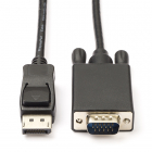 DisplayPort naar VGA kabel - Nedis - 1 meter (Full HD)