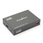 Nedis HDMI splitter 4-poorts - Nedis (Ultra HD 4K en 3D geschikt, 60fps) VSPL3434AT N030100011