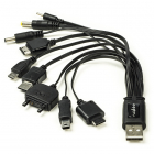 Nedis Multilaadkabel USB 2.0 (10 connectoren) PACUSB01 N010201222