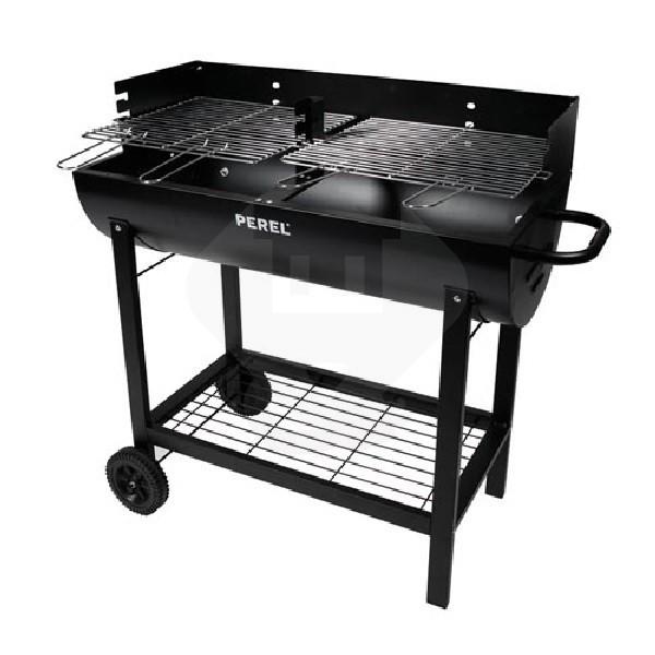 Houtskool Bbq Aanbieding.Houtskool Barbecue Perel 3 Bakhoogtes 2 Grillroosters Zwart