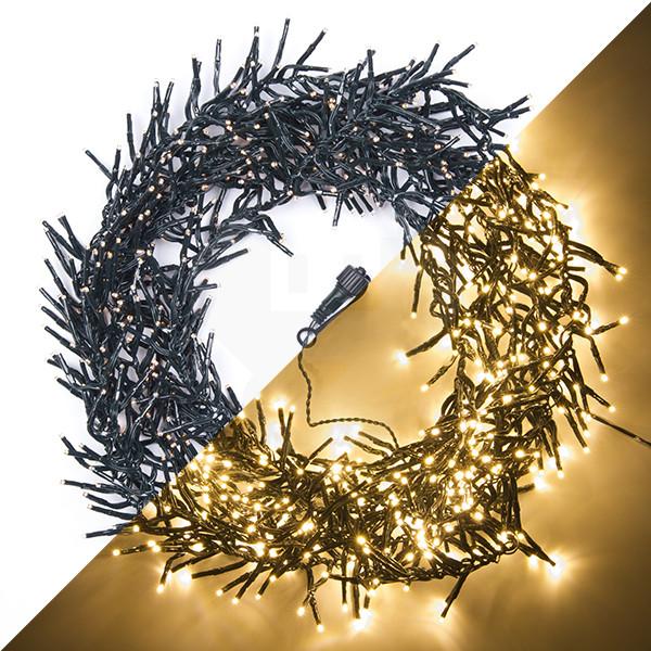 Koppelbare LED kerst clusterverlichting 5.5 meter (768 LED\'s Extra ...