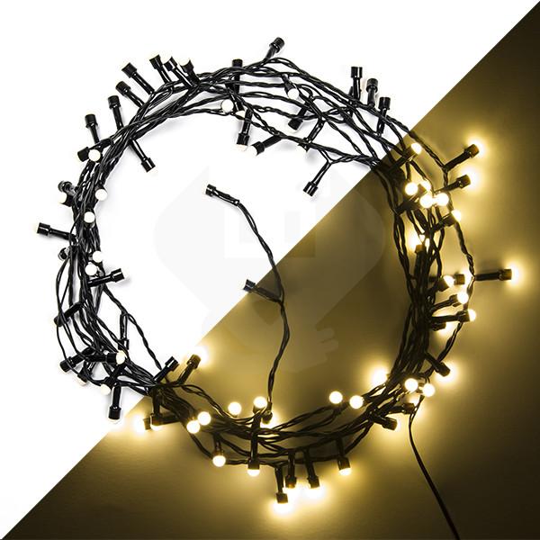 Led Kerstverlichting 9 Meter 80 Leds Bolvormige Lampjes