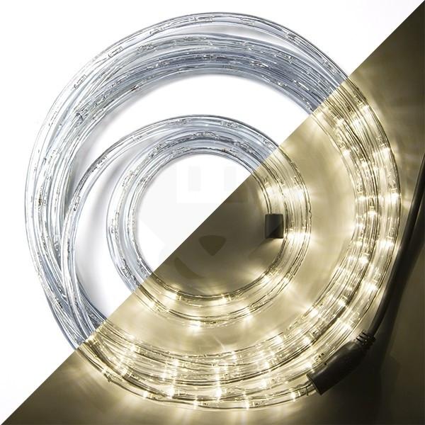 Led Lichtslang 6 Meter 144 Leds Warm Wit Perfectled Kabelshop Nl
