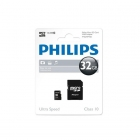 Philips Micro SDHC geheugenkaart met adapter (Class 10, 32 GB) FM32MP45B/10 K170301101