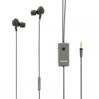 Sweex Oordopjes - Sweex (Mini jack, Noise cancelling, Microfoon) SWANCHS100GY K170105007
