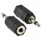 Adapter jack 3.5 mm mono naar stereo