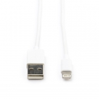 Valueline Apple lightning data- en oplaadkabel 1 meter (Wit) VLMB39300W10 VLMP39300W100 K010901138