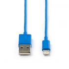 Apple lightning data- en oplaadkabel 2 meter (Blauw)