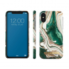 iDeal of Sweden iPhone Xr hoesje - iDeal of Sweden - Golden Jade Marble (Hardcase) IOSIDFCAW18-I1861-98 K010223189