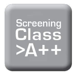 Screening Klasse A ++