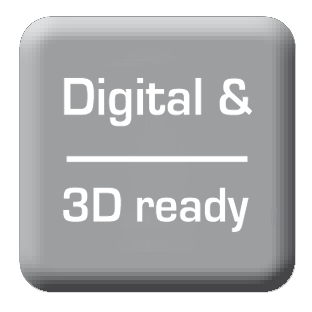 Digital and 3D ready