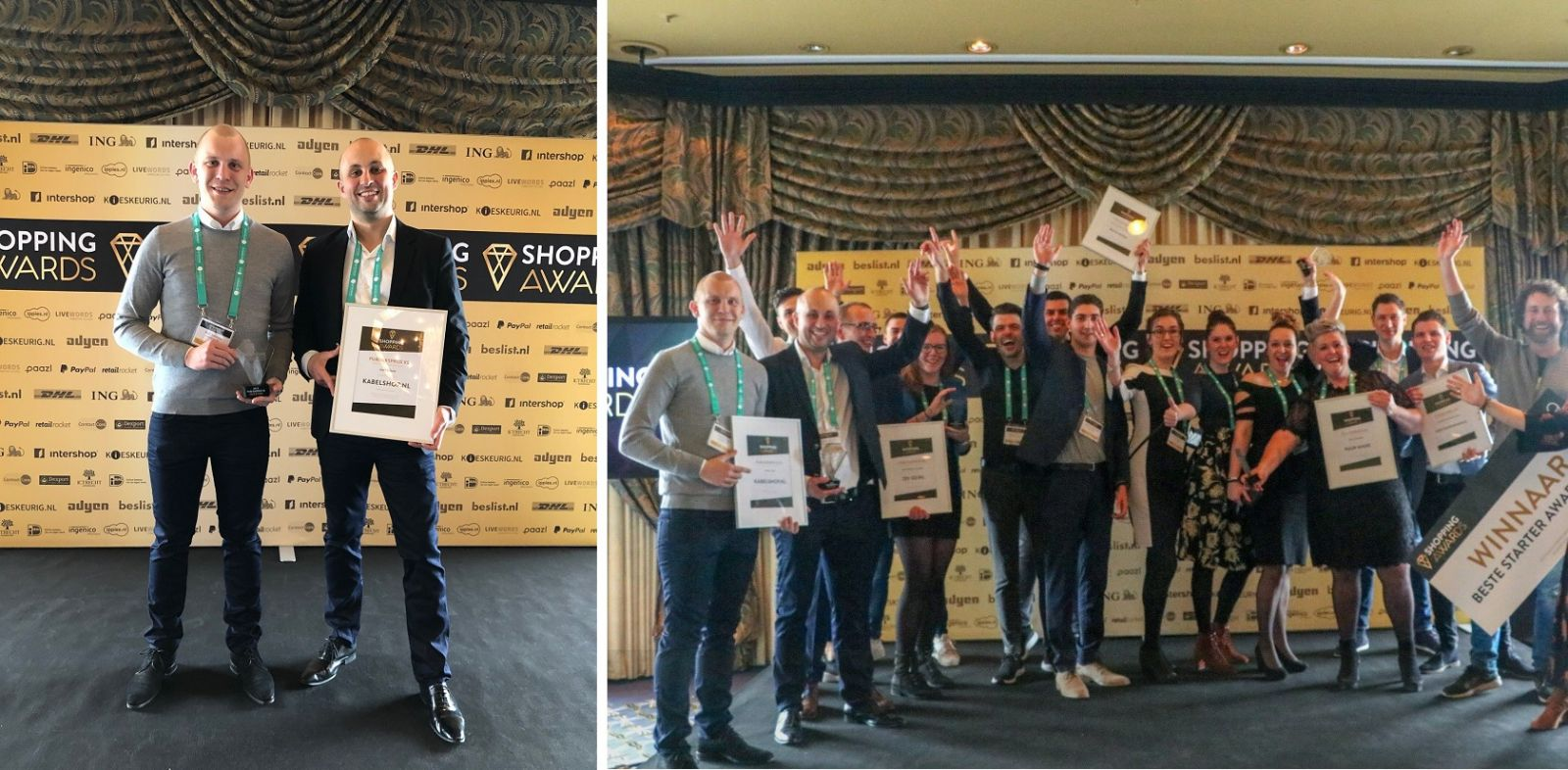 Winnaar Shopping Awards 2019! | Kabelshop.nl